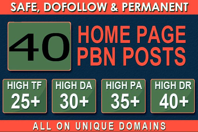 I Will assemble 40 super PBNs blog that fire SEO rankings