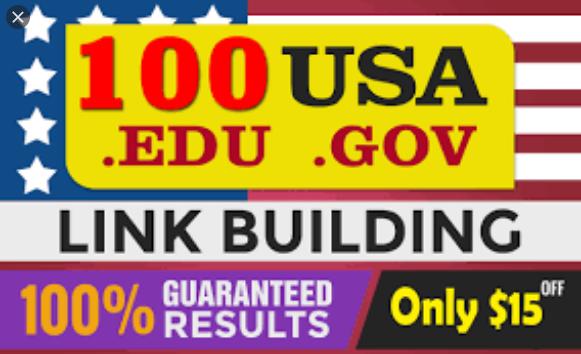 100 USA SEO link building,  manually backlinks