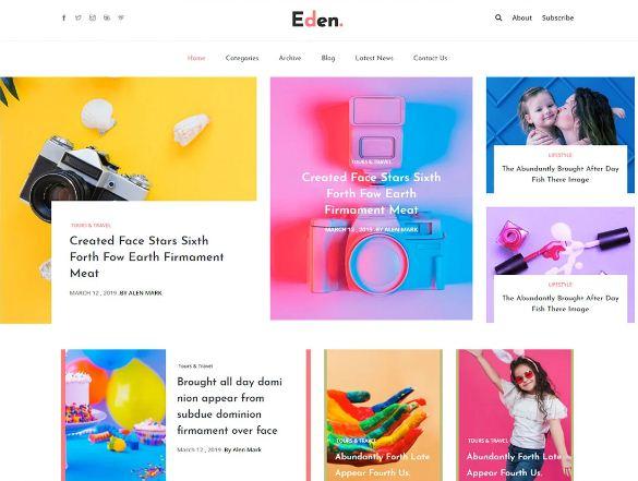 Create a full website On Google Blogger