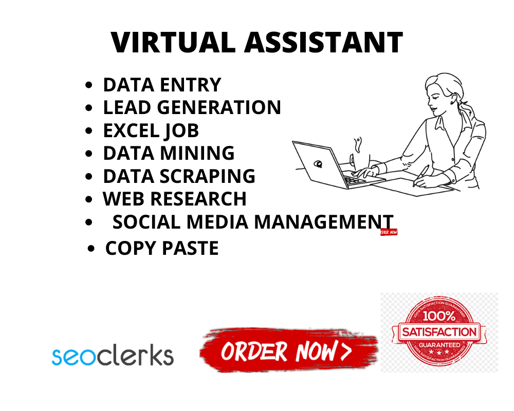 I will be your Dependable Virtual Assistant and do any kind of job as you need