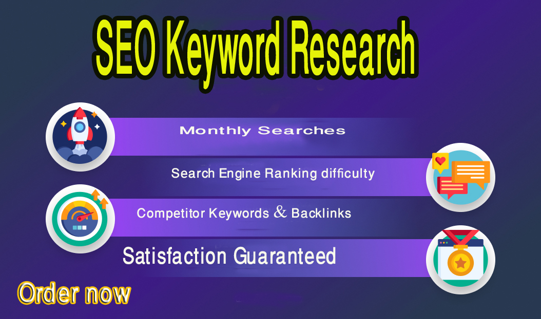 I will do profitable keyword research for SEO and competitor analysis for top ranking