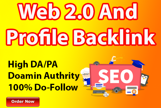 I will build high authority web 2 0 profile backlinks