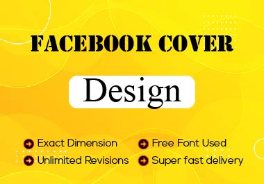I Will Create Awesome Facebook Cover Design