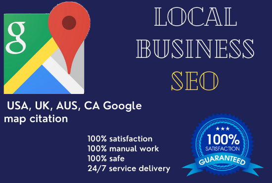 I will do 1000 google map citation within 2 days for you
