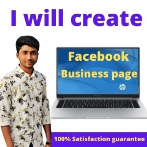 I will create a daynamic Facebook business page