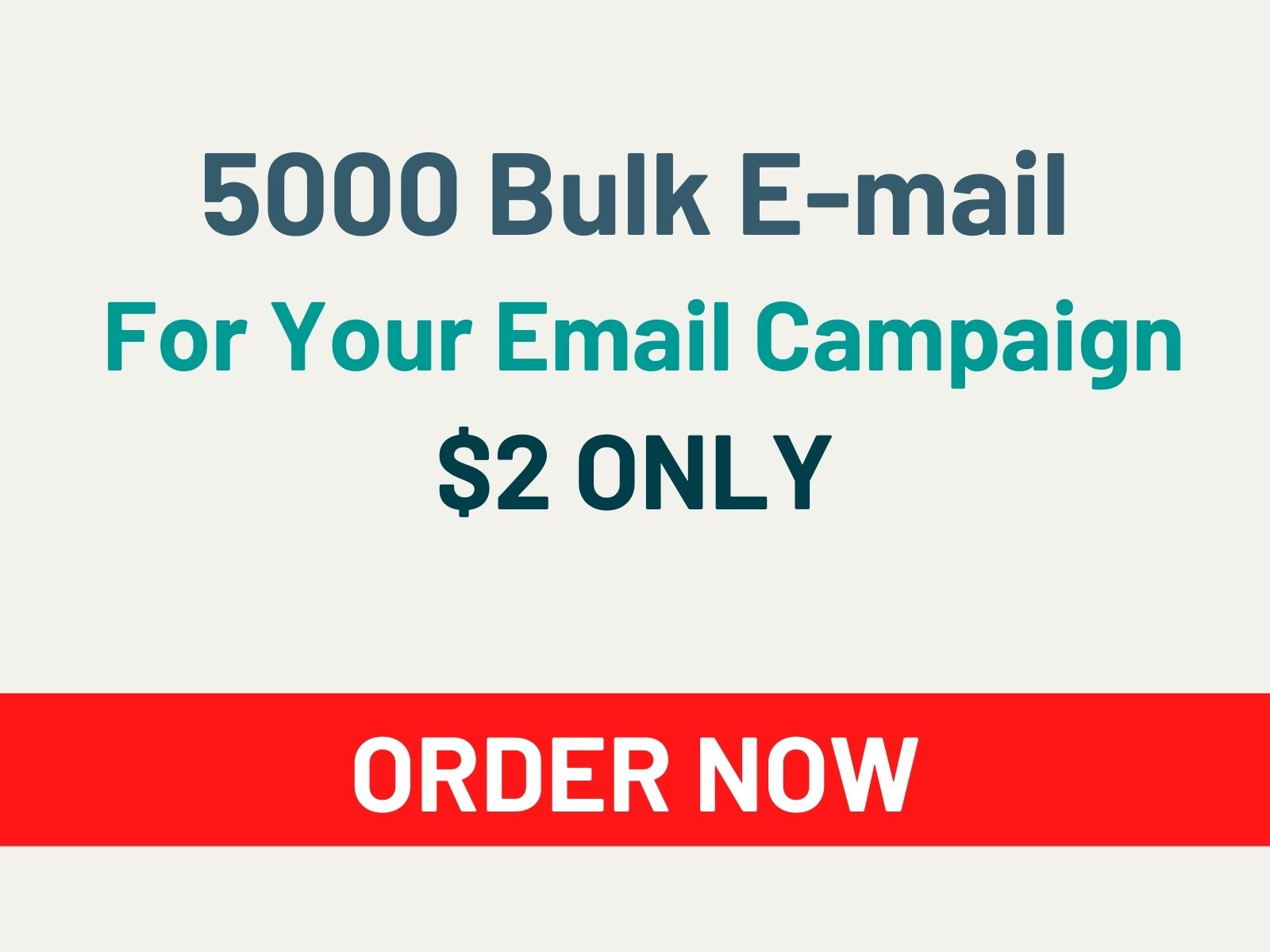 I Will Collect 5000 VERIFIED Bulk Email For You