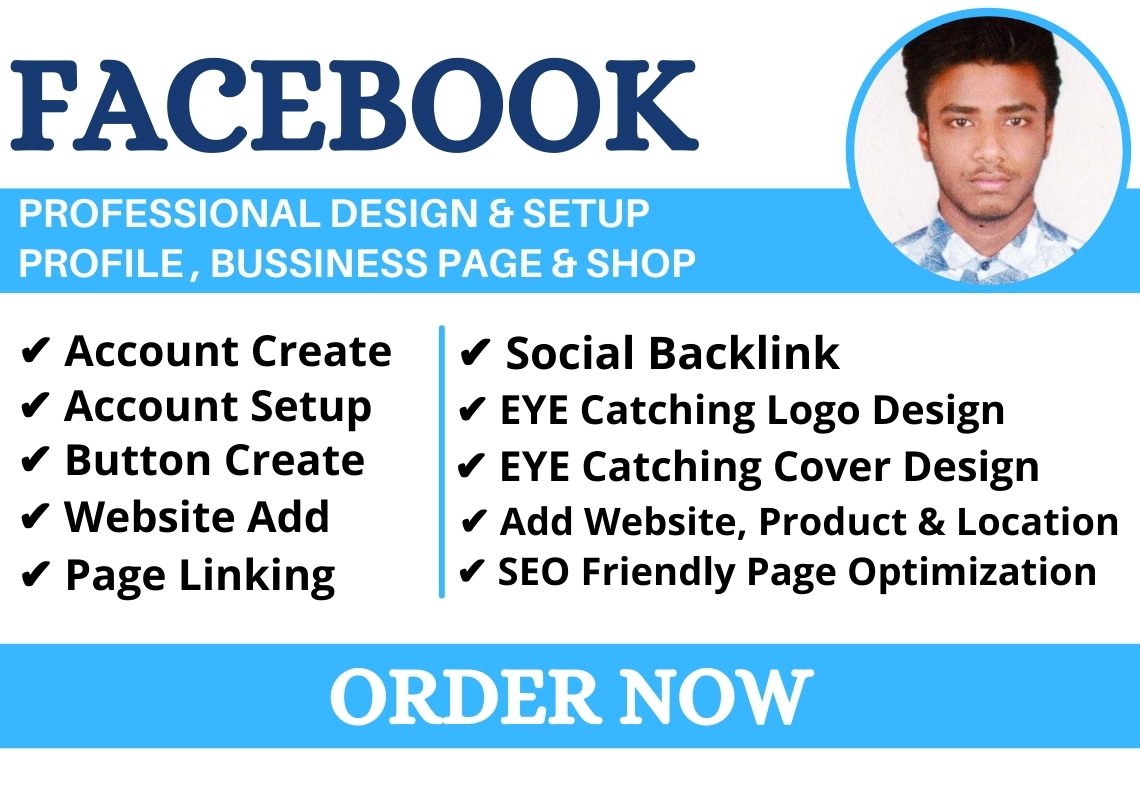 I Will Create and Setup Facebook Business Page within 24 hour