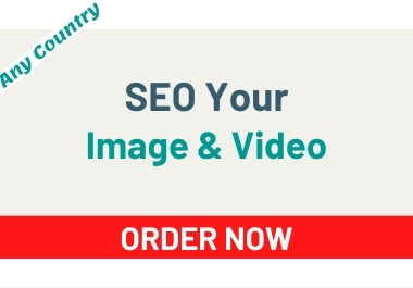 I will be SEO by research on your picture & videos