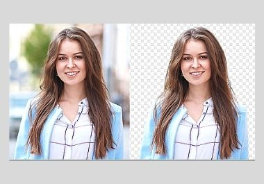 I will remove background from your images less than 24 hours