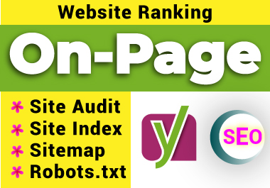 On Page SEO website Optimize WordPress