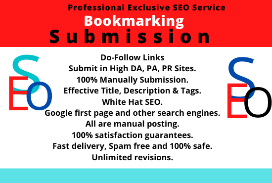 I will do Top 10 Bookmarking Submission On High DA PR Website
