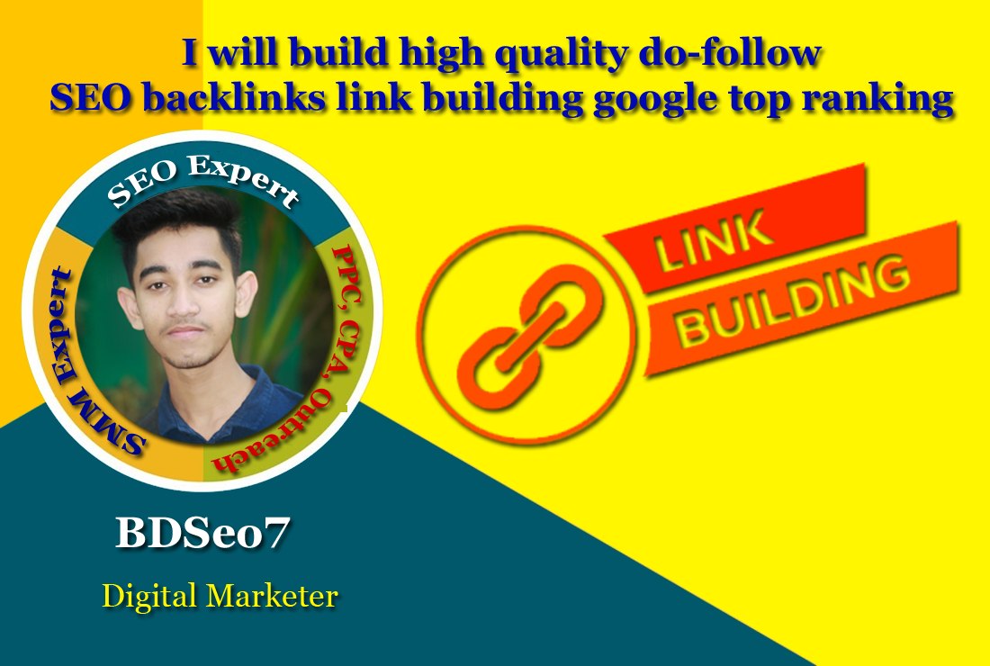 I will build 50 high quality do-follow SEO backlinks link building google top ranking