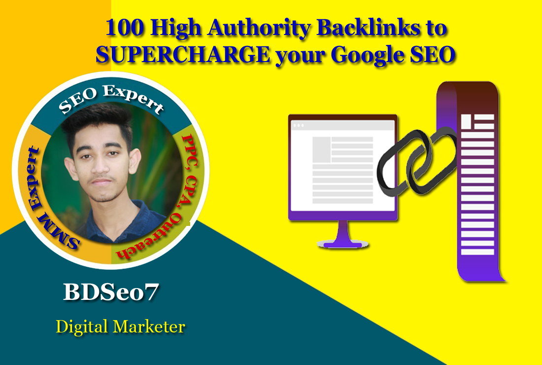 100 High Authority Backlinks to SUPERCHARGE your Google SEO