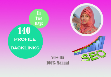 I Will Provide High DA PA Authority Profile Backlinks for Boost SEO Ranking