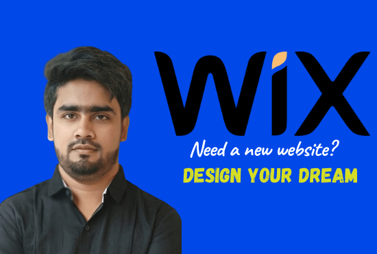 I will design and redesign wix website and landing page