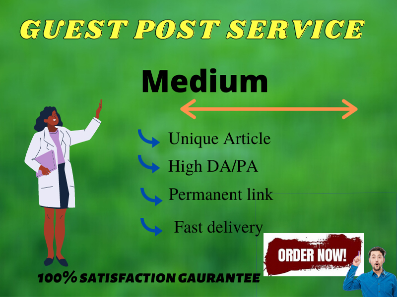 I will Write and publish SEO Optimize Article Guest Post on Medium