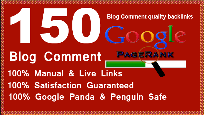 I will provide 150 dofollow blog comment backlinks High DA PA & off page seo