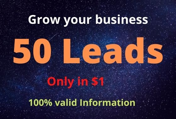 I will improve your business by collecting Leads