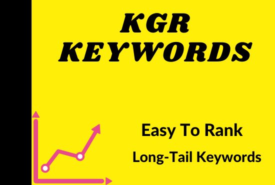 I will find kgr keyword research for amazon affiliate niche site