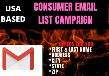 Consumer Email LIst Collection