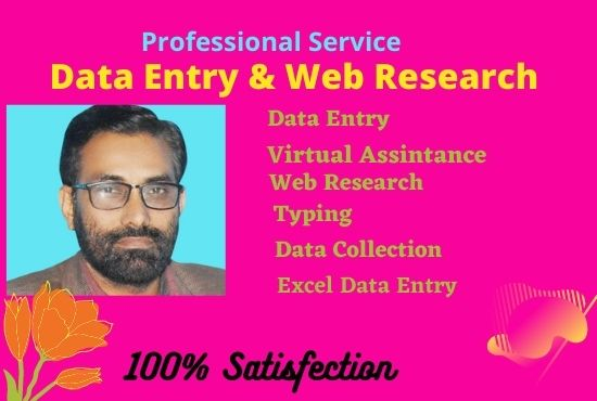 I will do excel data entry, copy paste, data mining and data scraping perfectly