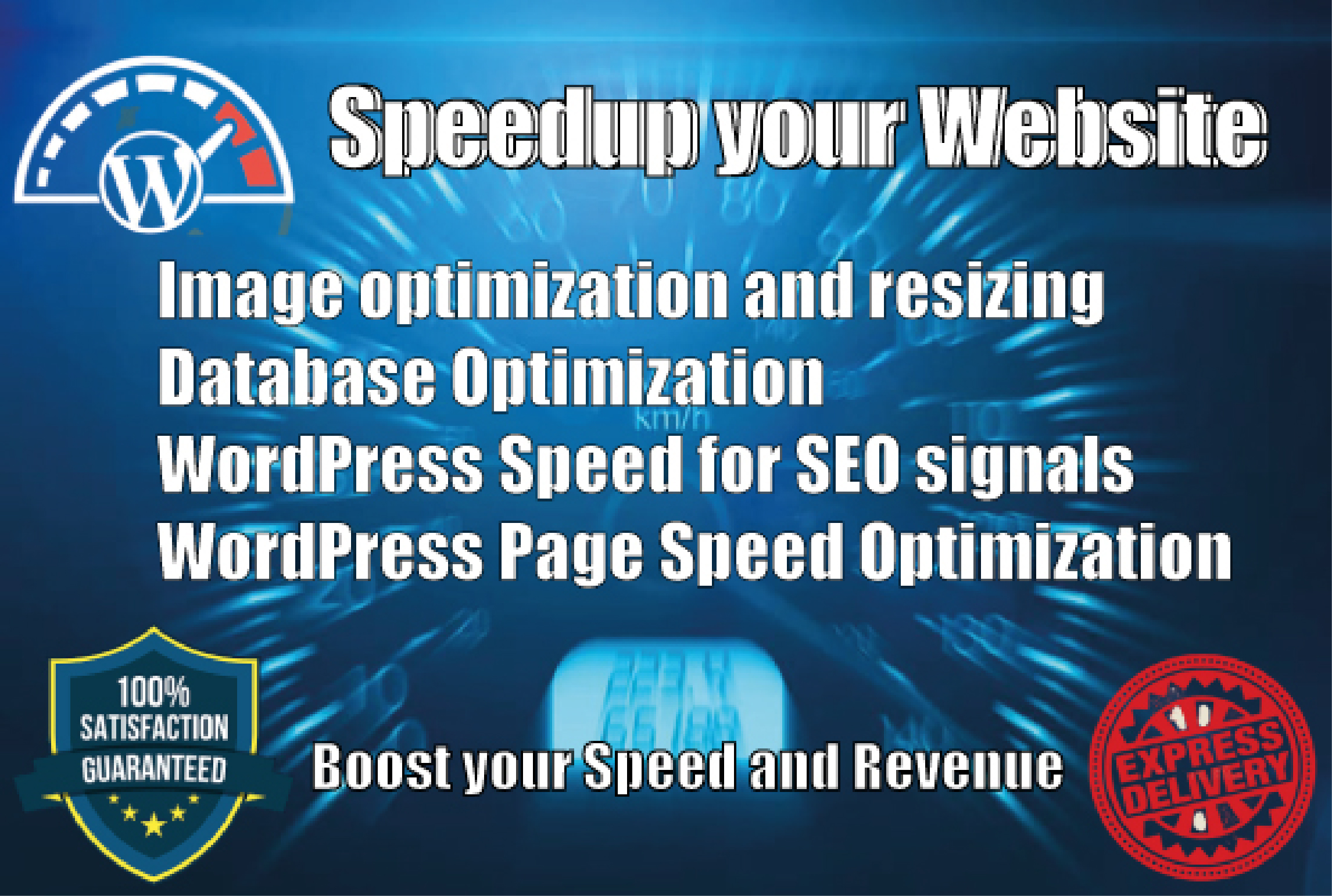 I will optimize website speed and fix the reason for sluggishness