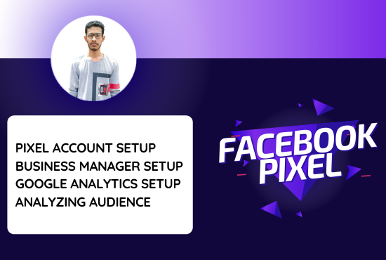 I will setup and fix Facebook Pixel and Google Analytics