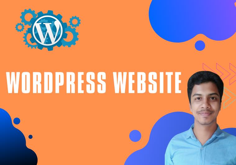 I will build Business & ecommerce WordPress Website