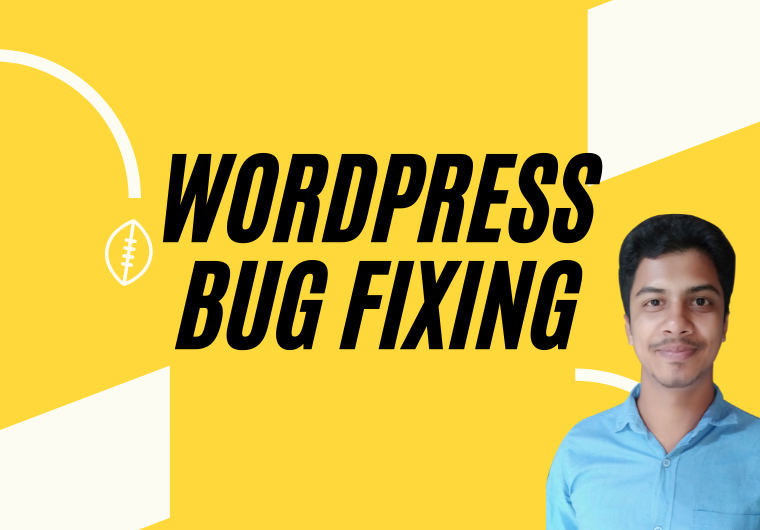 I will fix WordPress website bug or error