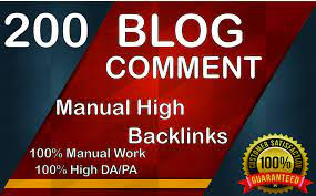 I Will Provide 200 Dofollow Blog Comments Backlinks