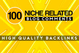 I Will Create 100 niche RELATED Blog commentS