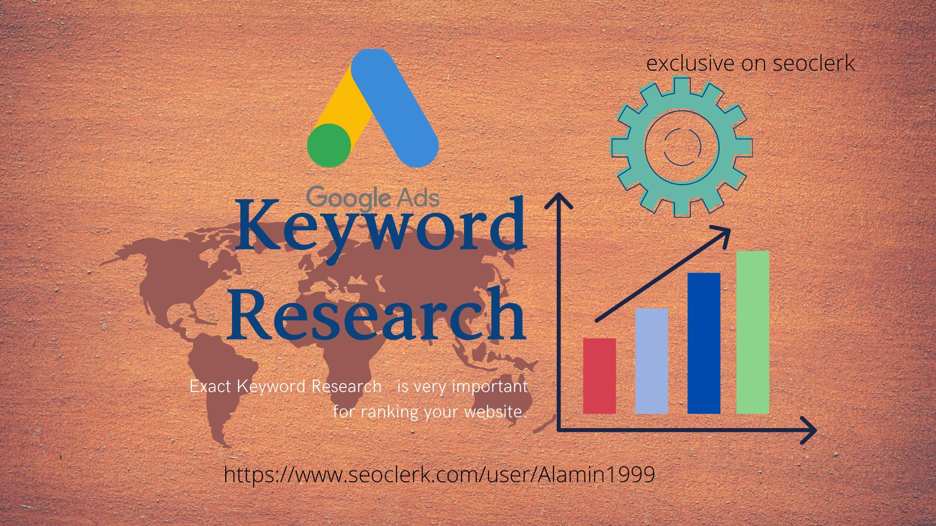 I will do 500+SEO niche profitable keyword Research