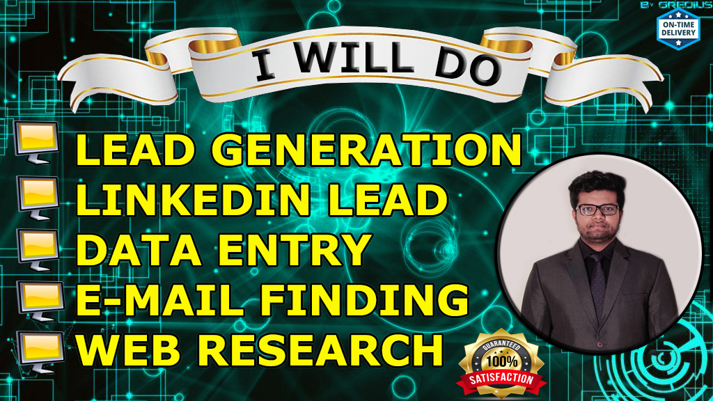 I will find 100 leads for your buisness
