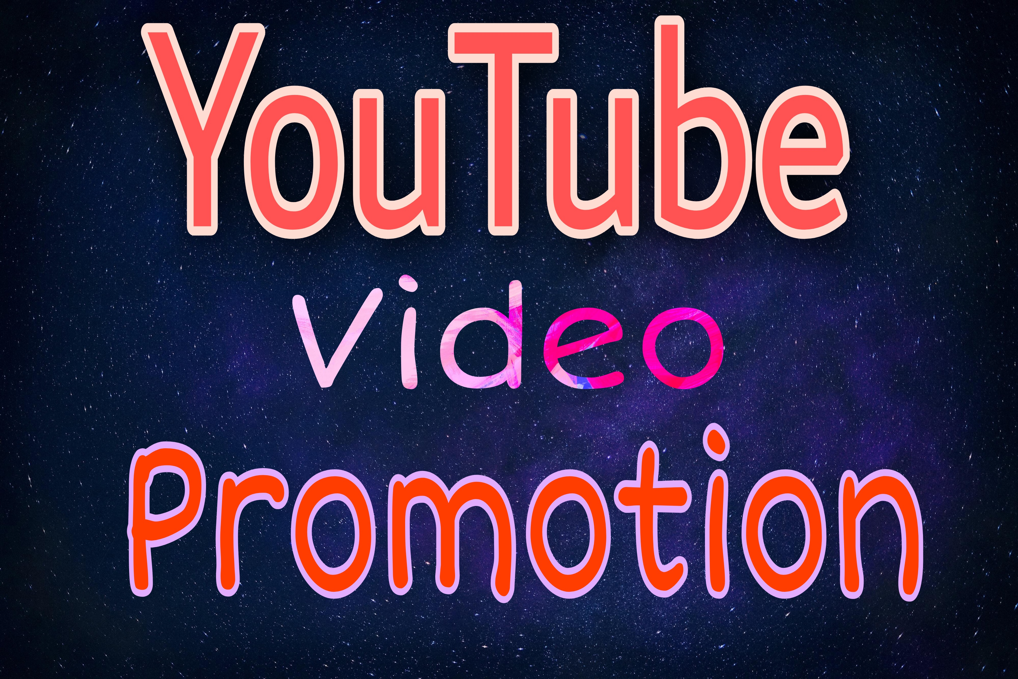 Organic YouTube video Promotion original package