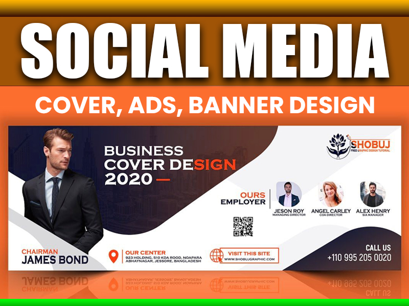 I will create facebook cover ads and other social media banner design
