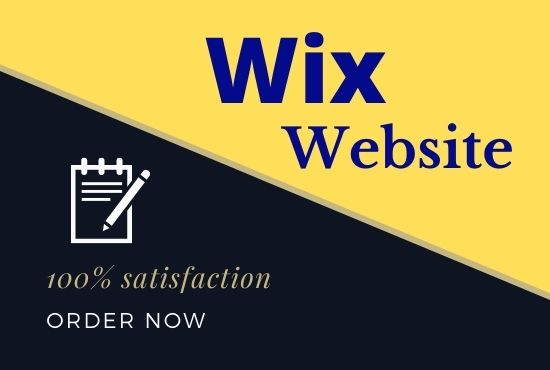 I will Create professional Wix Website Design and Redesign