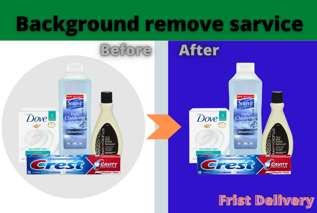 I will do 10 image background removal and clipping path