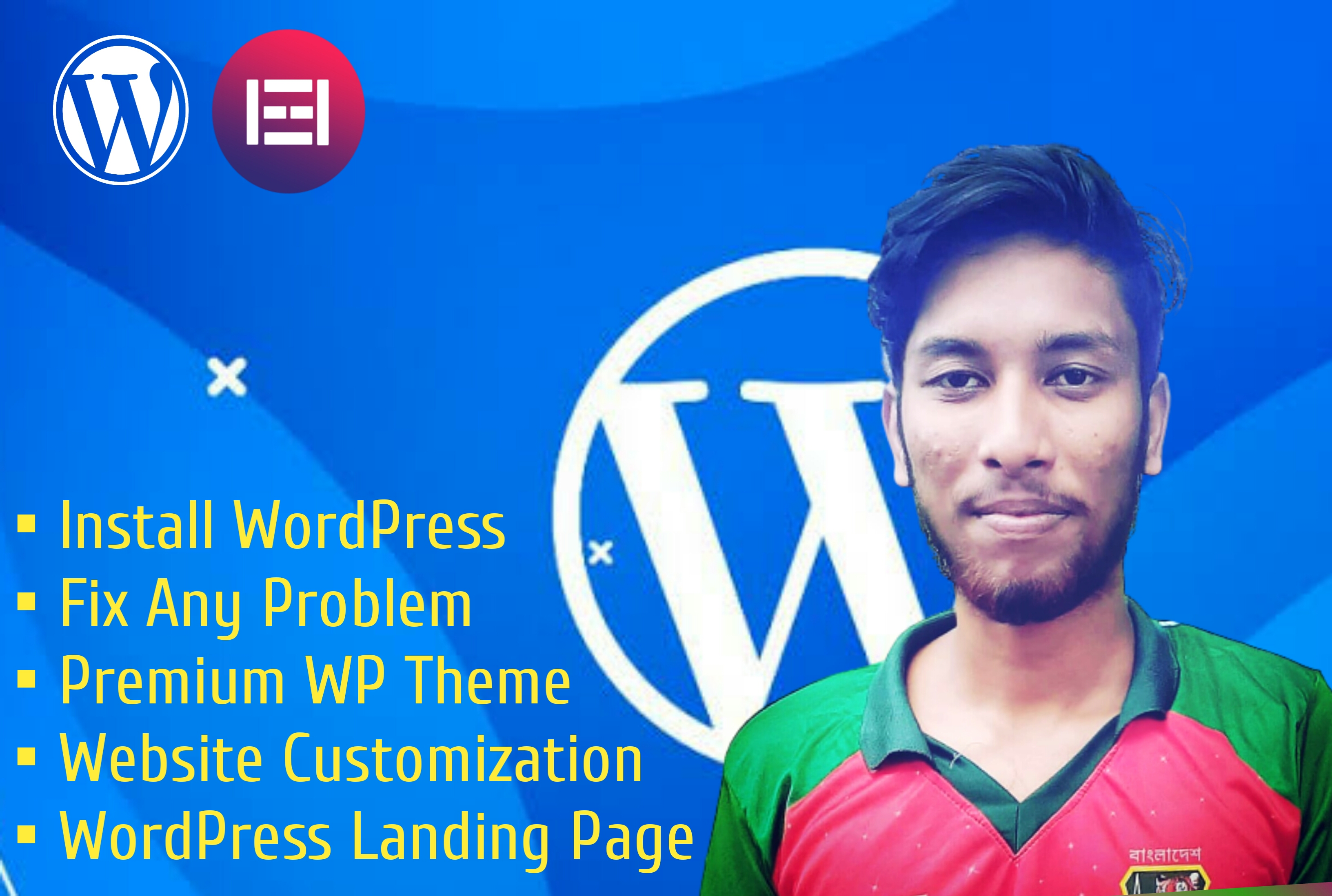 I will fix or create your WordPress website