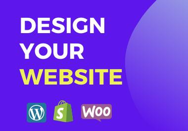 I Will Design WordPress Website or Redesign Website