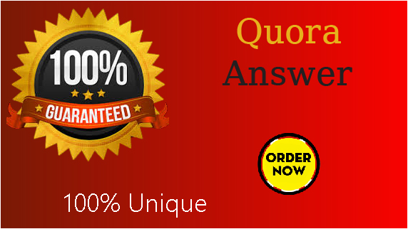 I will do 3 High Quality Quora Answer for your Trageted Traffic