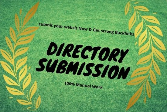 I will manually add your website details in 50 directory bucklinks