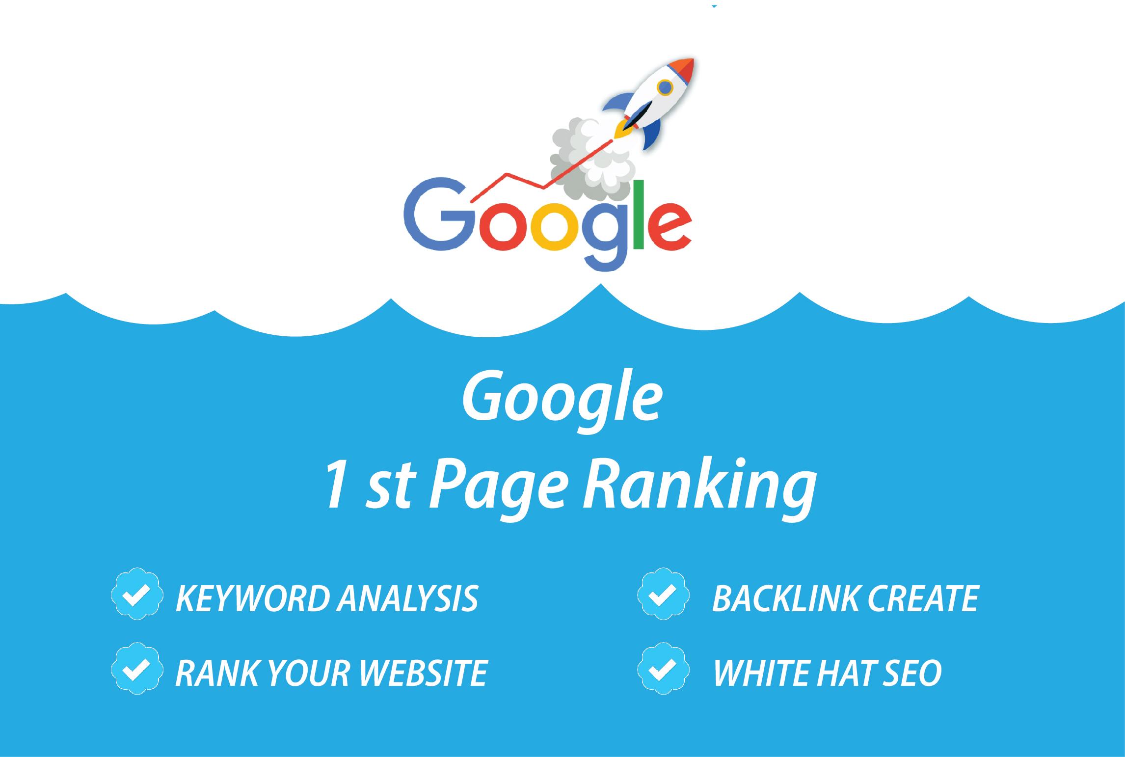 Guaranteed rank your website on Google top ranking