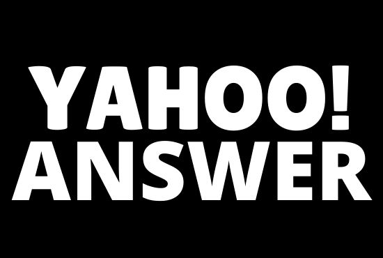 Promote your website 10 High Quality Yahoo Answers