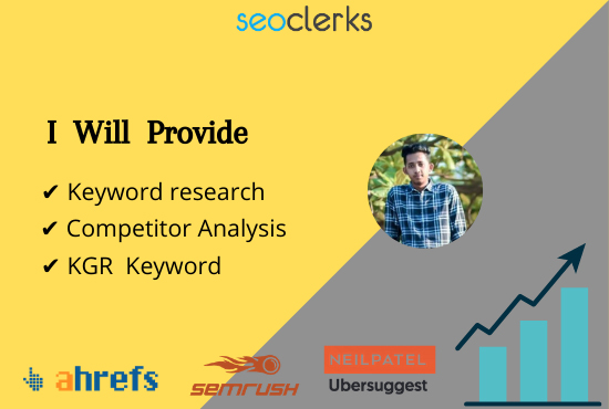 I will Do Unbelievable Keyword Research & Competitor Analysis