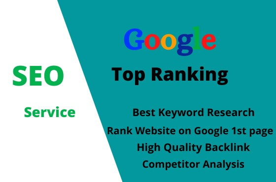 Rank your website on Google Top 10 guaranteed SEO service