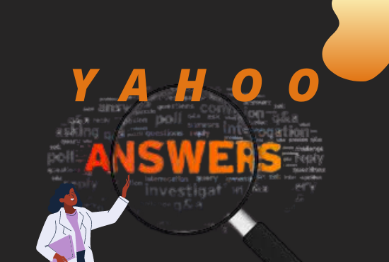 I will Provide 10 high quality Yahoo Answer for your targeted traffic