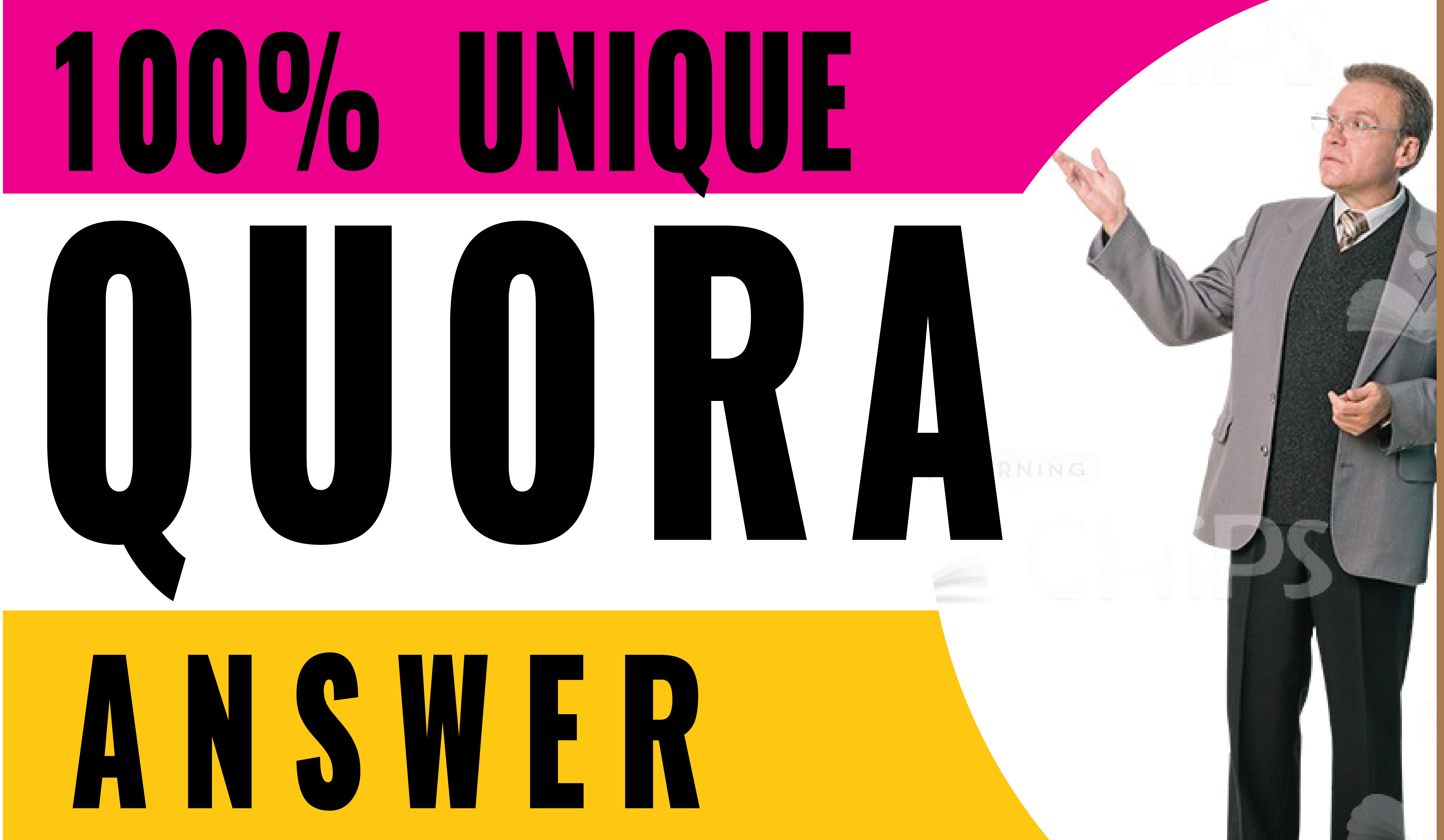 Promote your website with High Quality 5 Quora answer