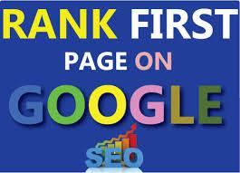 I will Guaranteed Google 1st Page Ranking SEO Service Manual High Quality Backlinks
