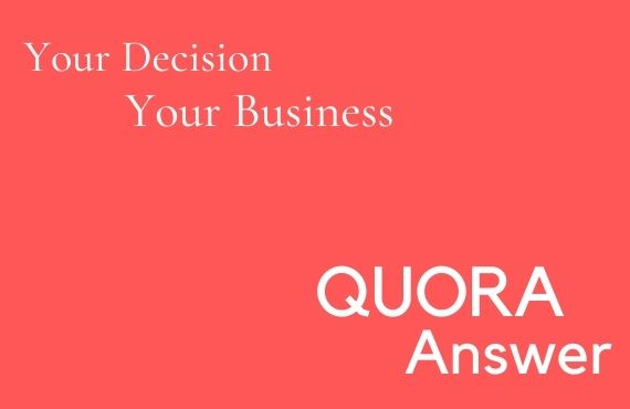 Promote Your website 5 HQ Quora Answers for targeted traffic