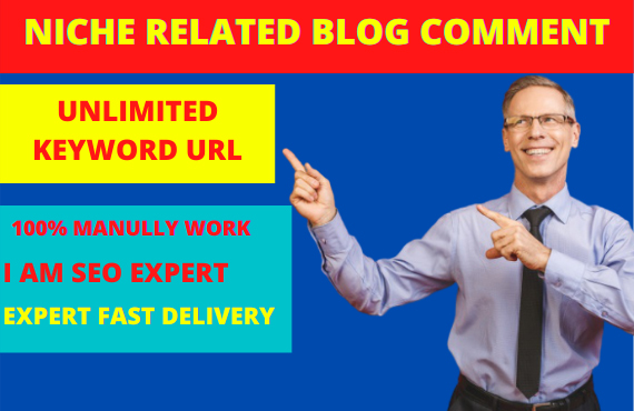 I will probide manually created 50 high quality blog post backlinks your targeted traffic for you